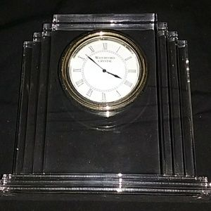 Other - Waterford Crystal Clock
